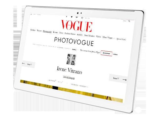 PHOTOVOGUE - Irene Vitrano